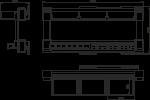Многофункциональная вешалка GTV W-WYSF003-10