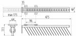 Вешалка GTV для галстуков WW-KRAW00-20