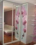 Зеркало/Розовая орхидея