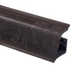 Плинтус Rehau 118 Амалви мрамор коричневый