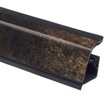 Плинтус Rehau 118 Черный минерал