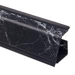 Плинтус Rehau 118 Черный мрамор