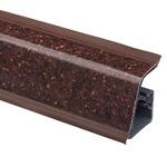 Плинтус Rehau 118 Кварцевый камень темный орех
