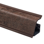 Плинтус Rehau 118 Металло серо-коричневый
