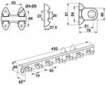 Вешалка для ремней GTV WW-KJ0201-01